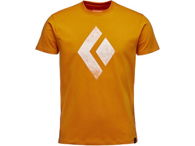 Black Diamond Chalked Up T-shirt Homme, ginger